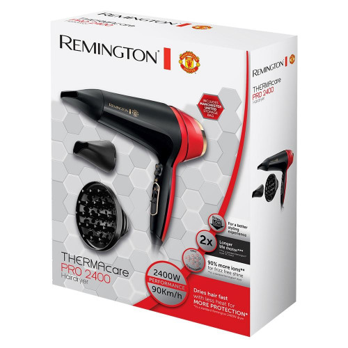 Suszarka do włosów Thermacare Pro 2400 Manchester United (Remington®)