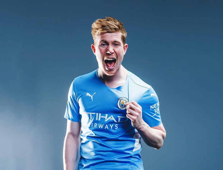 Manchester City Home Jersey 2021/22
