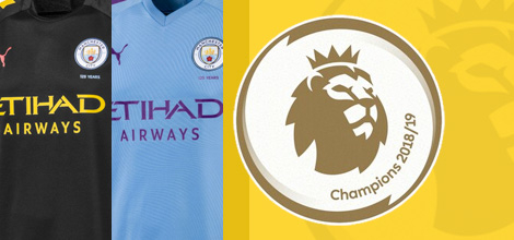Manchester City emblemat Premier League