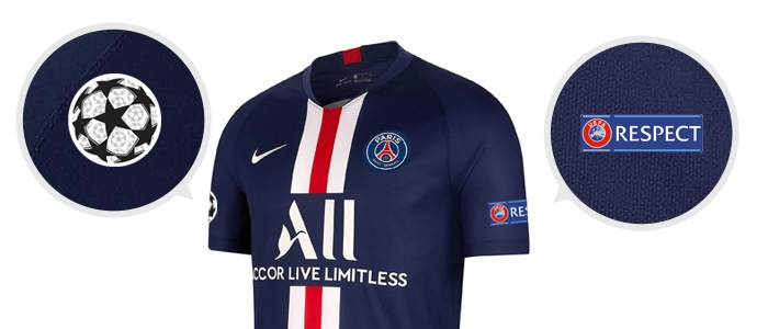 Emblematy UEFA Champions League Paris Saint-Germain 2019/20