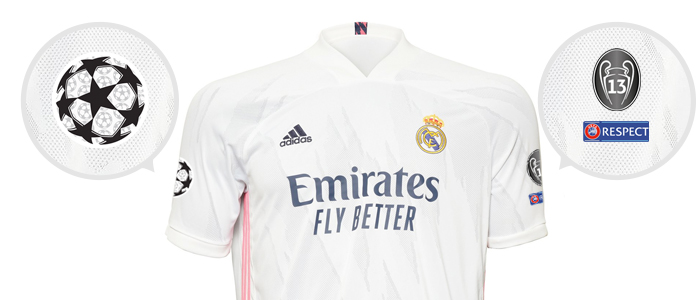 Emblematy UEFA Champions League Real Madryt 2020/21